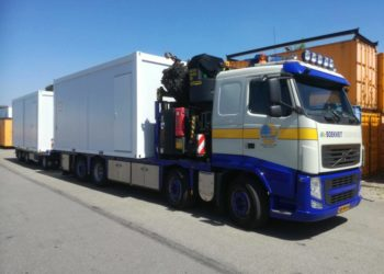 Transport kantoorunits Boekweit Transport