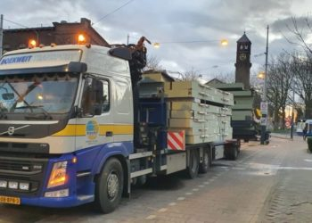 Speciaal Transport wandpanelen Kingspan