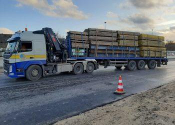 Transport Steiger materieel